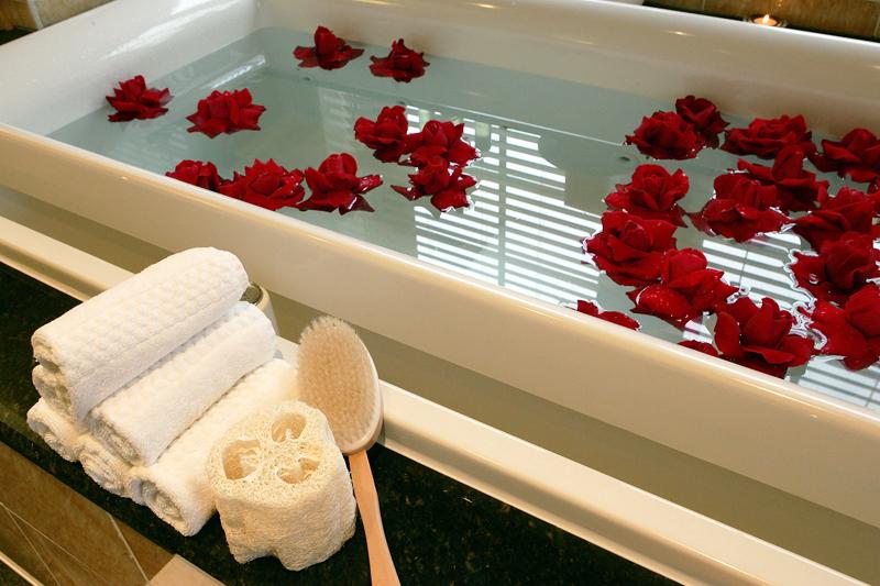 Ванна с розами – удовольствие для тела и души1