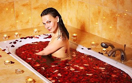 Ванна с розами – удовольствие для тела и души3