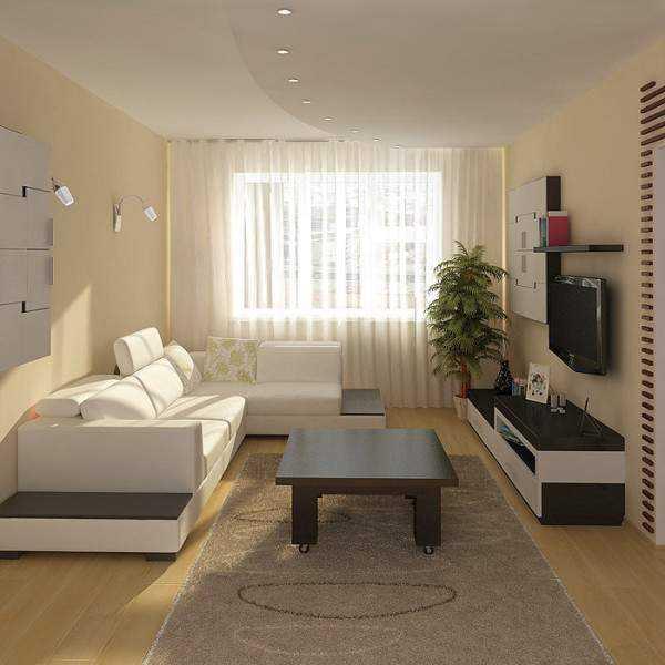 Варианты дизайна зала в квартире1