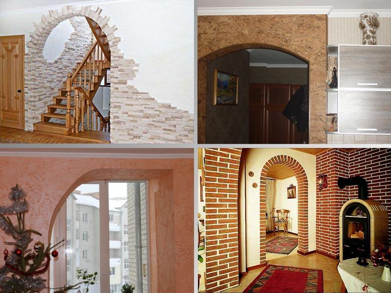 Варианты отделки арки: материалы и технологические нюансы6