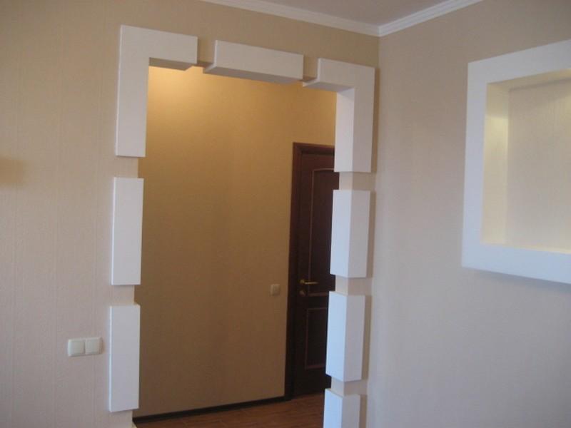 Варианты отделки дверного проема4