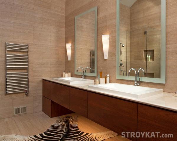 Влагозащитные светильники в ванной0