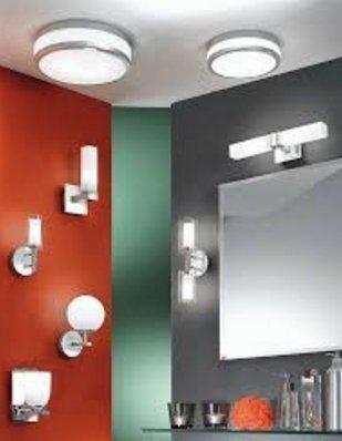 Влагозащитные светильники в ванной1