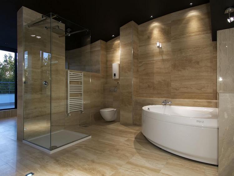 Влагозащитные светильники в ванной2