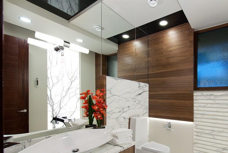 Влагозащитные светильники в ванной4
