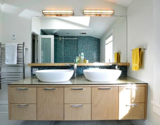 Влагозащитные светильники в ванной5