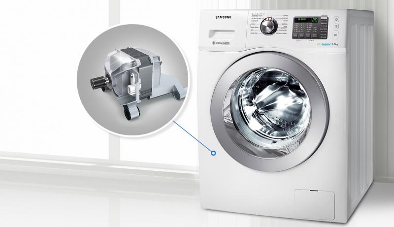 Воздушно-пузырьковая стиральная машина и функция eco bubble1