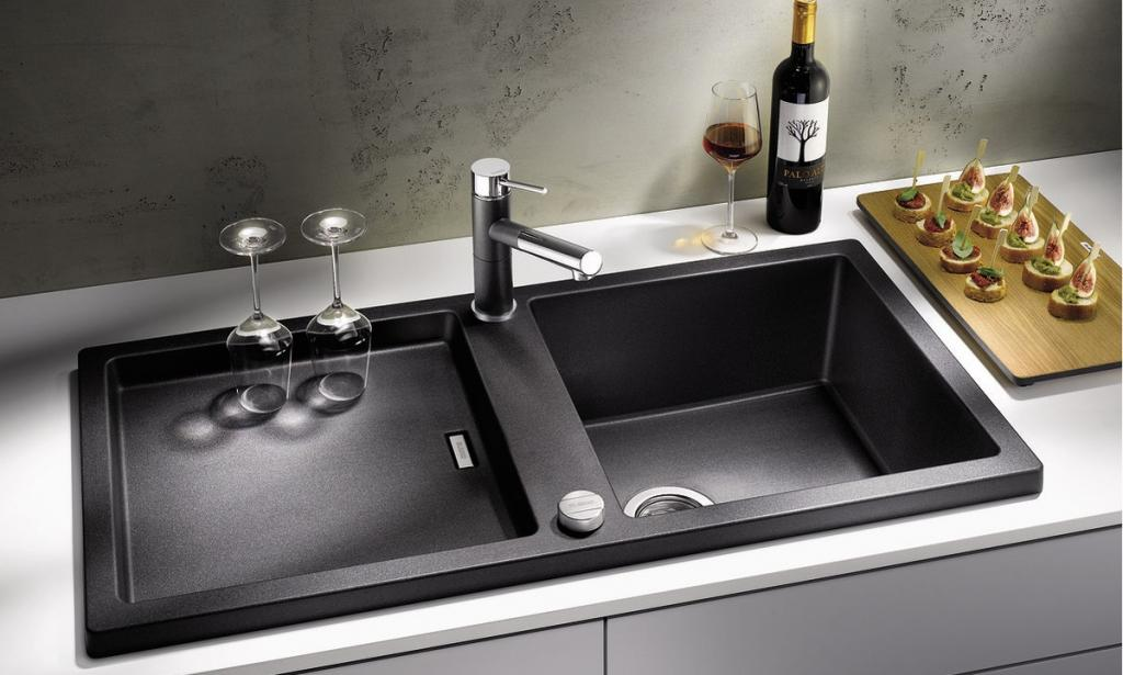 Выбираем кухонную мойку: нержавейка или гранит?2