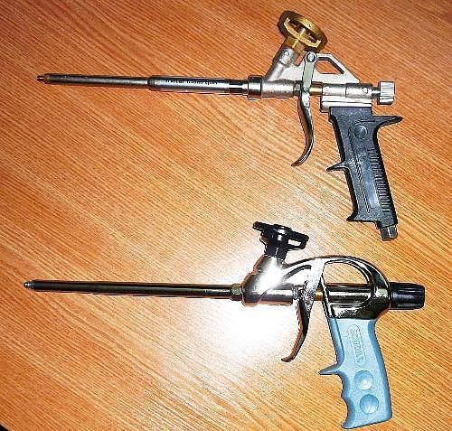 Выбираем пистолет для монтажной пены. устройство пистолета4