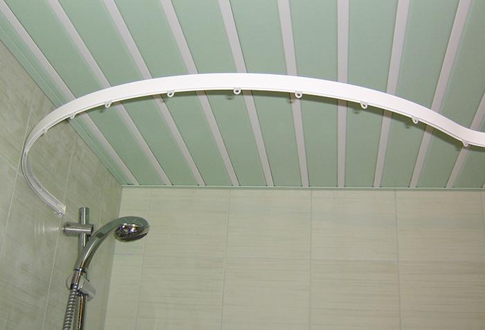 Выбор полукруглых карнизов для оформления ниш, ванных комнат и нестандартных окон1