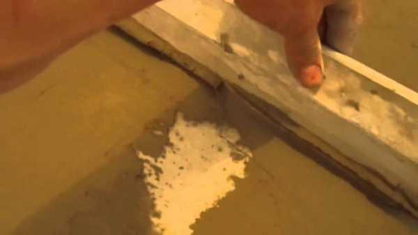Выравнивание пола плиточным клеем: как выровнять под линолеум5