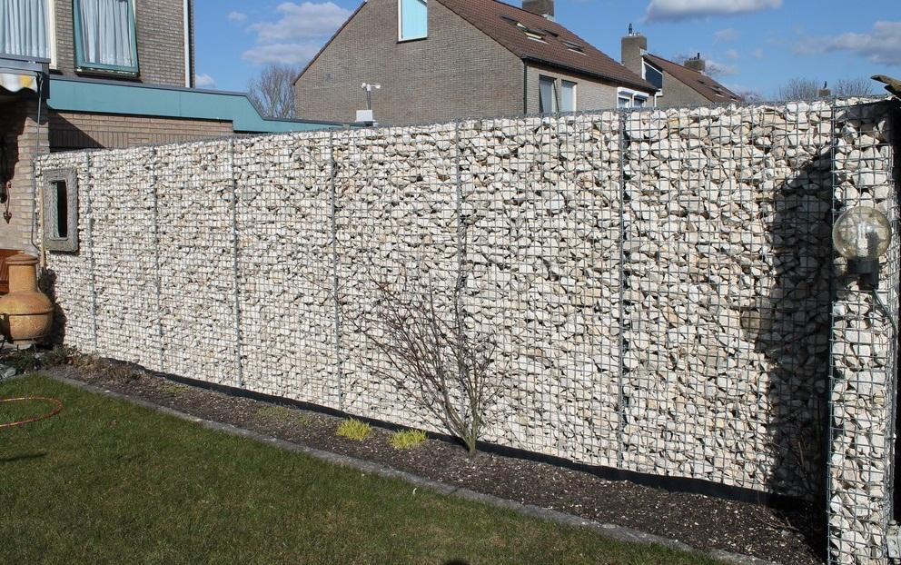 Забор из габионов1