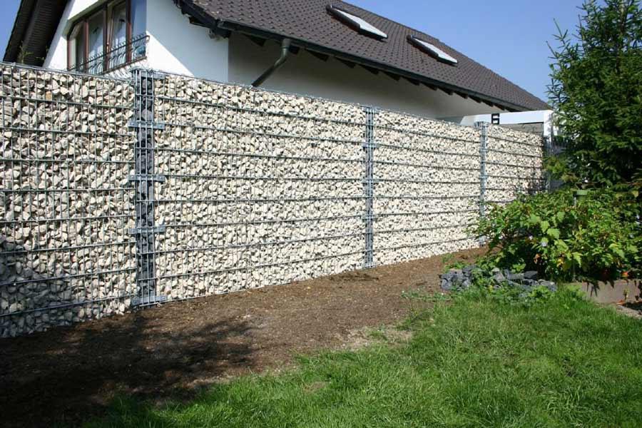 Забор из габионов3