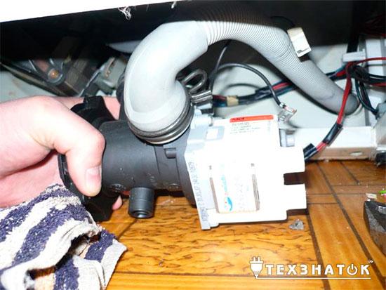 Замена насоса в стиральной машине своими руками2
