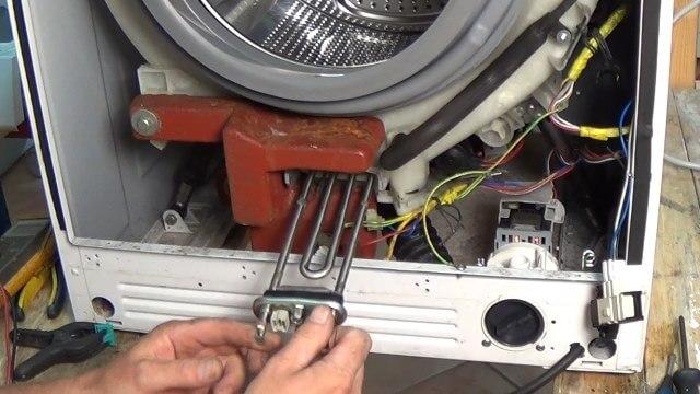 Замена тэна в стиральной машине0