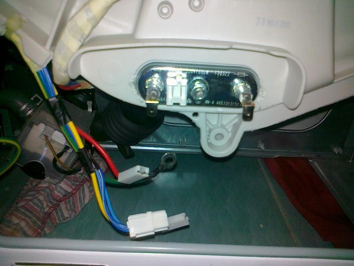 Замена тэна в стиральной машине6
