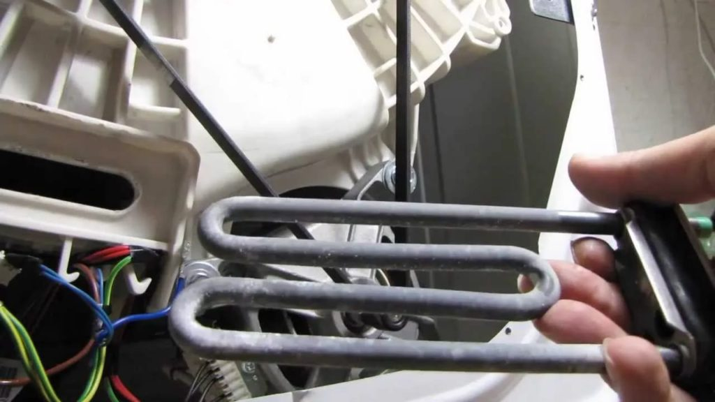 Замена тэна в стиральной машине7