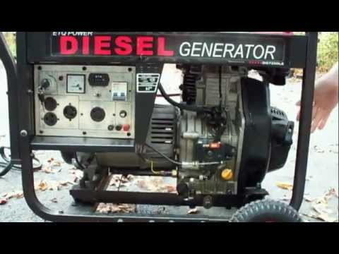 Запуск дизель-генератора2