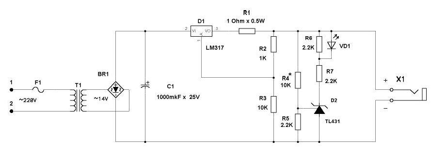 Зарядка гелевых аккумуляторов0