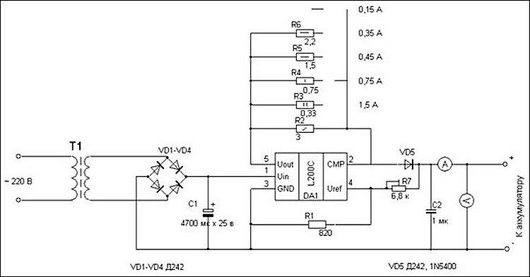 Зарядка гелевых аккумуляторов4