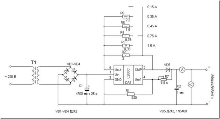 Зарядка гелевых аккумуляторов5