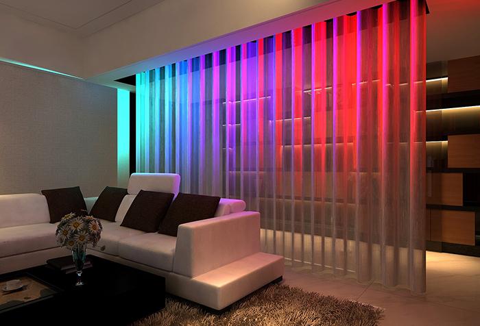 Зонирование комнаты шторами: разумное распределение пространства1