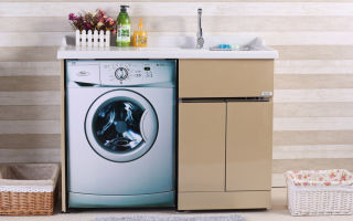 Встраиваемые стиральные машины под столешницу