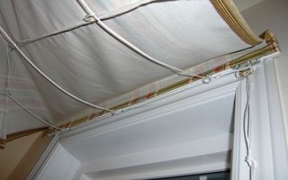 Советы новоселам: как самостоятельно закрепить римские шторы