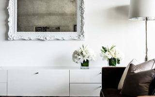 Монохромный интерьер от дизайнера janet rice