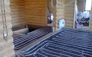 Теплый пол в деревянном доме: виды и загородное устройство, электрические с подогревом воздушным, частный дом