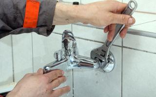 Смеситель для ванной: устройство, демонтаж, установка