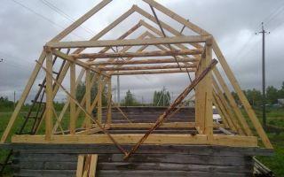 Мансардная крыша (мансарда) своими руками