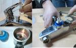 Починить кран на кухне — легко!
