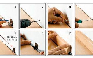 Способы установки плинтусов своими руками