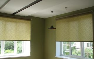 Тканевые ролеты на окна – идеальный способ сделать интерьер оригинальным