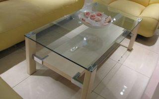 Как сделать стеклянныи стол своими руками