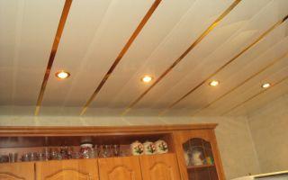 Как оформить потолок на кухне своими руками?