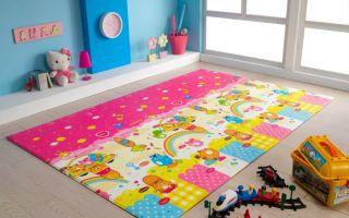 Какой ковер выбрать для детской комнаты?