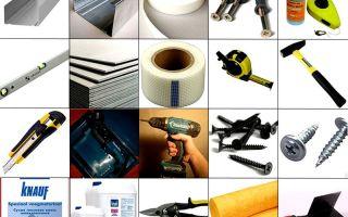 Дизайн спальни гипсокартоном: технология монтажа, инструменты и материалы