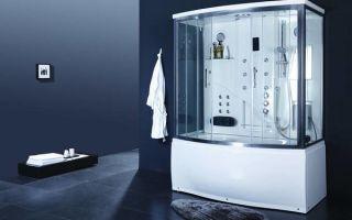 Гидробокс – душевая кабина с ванной