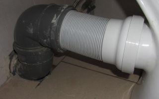 Как подключить унитаз к канализации?