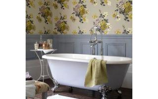 Чем можно заменить плитку в ванной — альтернатива плитке