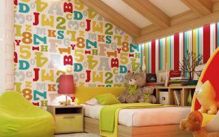 Обои для детской комнаты, фото идей