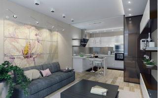 Как создать современный дизайн кухни гостиной 20 кв м своими руками?