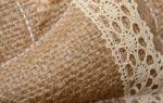 Мешковина для декора домашних аксессуаров (42 фото)