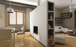 Перегородка шкаф для квартиры и дома из гипсокартона
