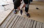Как выполнить укладку линолеума на фанеру