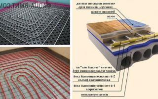 Технология устройства теплого пола под ламинат