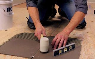 Как положить плитку на осб плиту: можно ли класть на фанеру, укладка и как положить пол, чем приклеить керамическую