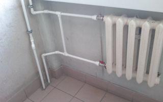 Замена на полипропилен трубы отопления
